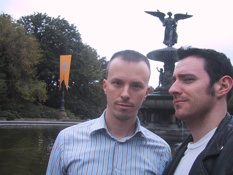 Mikey-O and Jason in Central Park