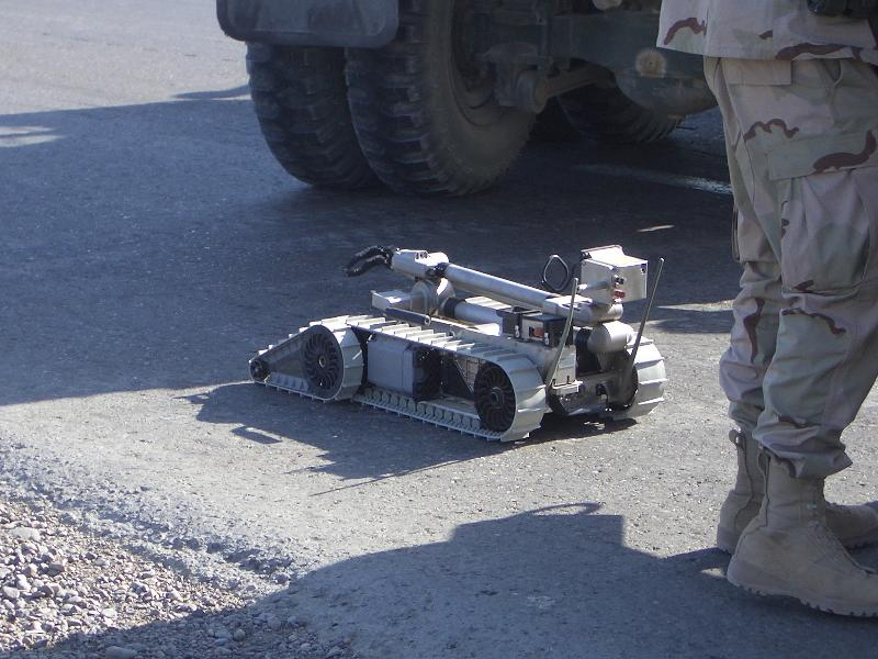 EOD robot