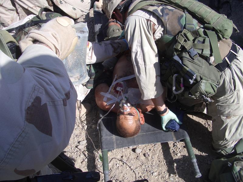 wounded Iraqi
